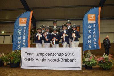 Brabantse kampioenschappen indoor 2018